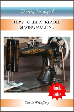 How to use a Treadle Sewing Machine Quick Guide