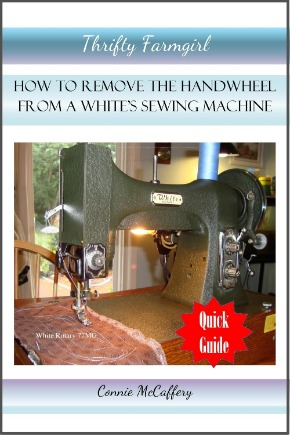 How to Remove the Handwheel From a White