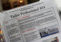 Tailor Pro 834 Flash Card