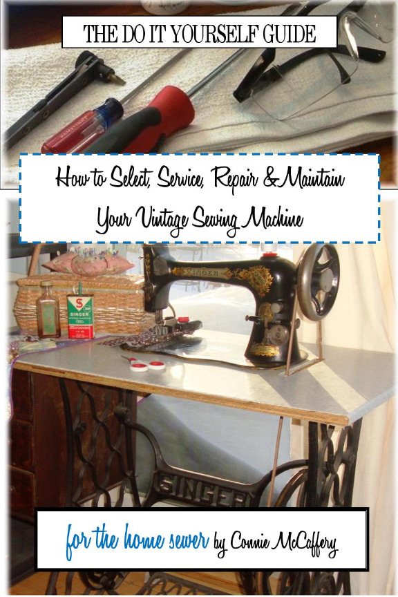 Original vintage sewing machine parts sewing repair book available an easy to follow guide for the home sewer in selecting servicing repairing maintaining their vintage sewing machine solutioingenieria Images