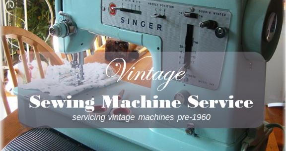 Vintage Sewing Machine Service