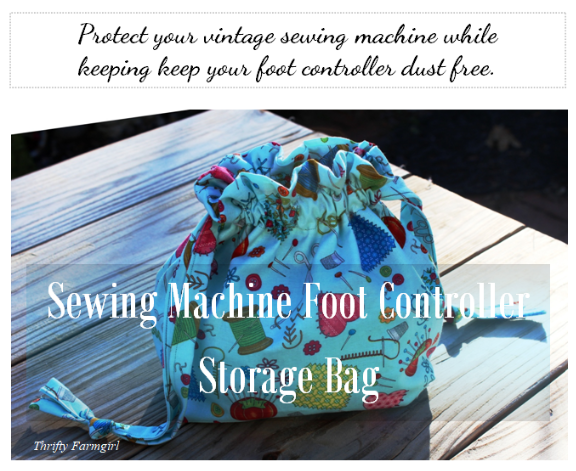 Sewing Machine Foot Controller Storage Bag