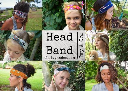 head bands, bandana, head wraps, hair styles, fashion