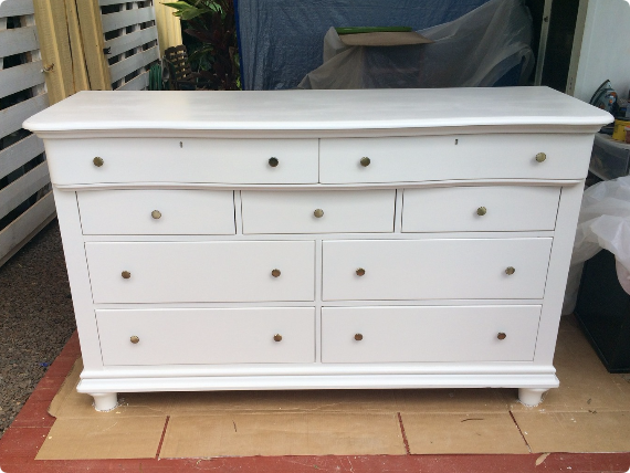 The final refinished dresser from Ivy & Co.