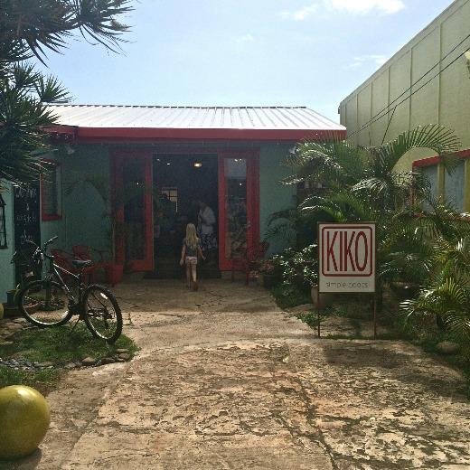Kiko storefront in Kuaui