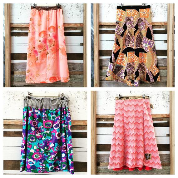 End of Summer Playlist and Sale on Vintage Muu Muu Skirts