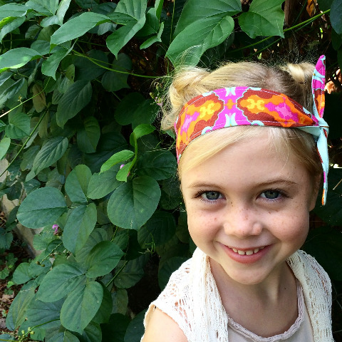 kids headband made in hawaii with aloha