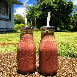 smoothie, chia, chia seeds, pineapple, Hawaii, summer smoothie