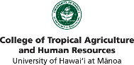 College of Tropical Agriculture and Human Resources lgo