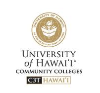 University of Hawaii Community Colleges C3T Hawaii logo