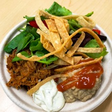 chicken taxo bowl