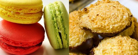 macaroon and macaron