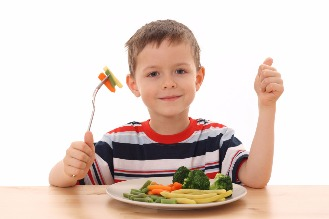 Child Eating Healthy