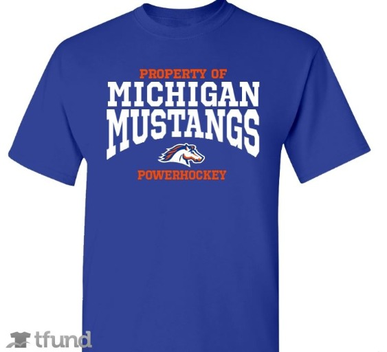 Buy your own Michigan Mustangs T-Shirt
