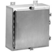 Adalet NEMA 4x JIC Stainless Steel Enclosure JN4XHSS - Continuous Hinge Clamped Cover Enclosure