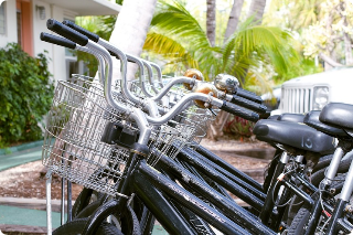 bike rentals available at El Patio Motel in Key West, Florida