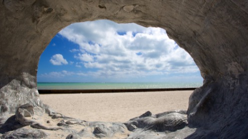 key west beach wedding videography fort zach video