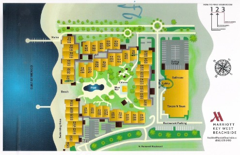marriott beachside property map