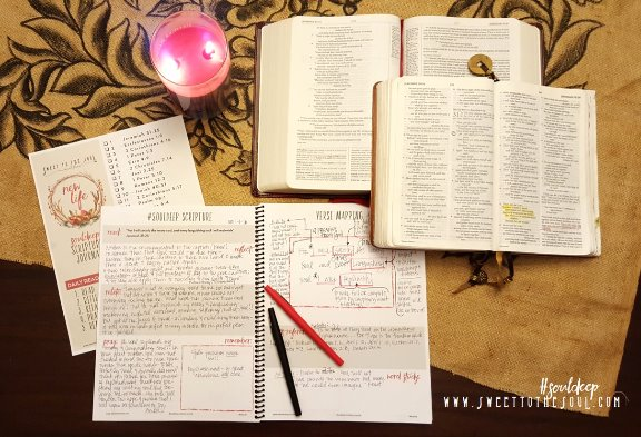 Sweet to the soul ministries using your souldeep scripture journal to spend a little time sharing about how i use the souldeep scripture journal but i hope you take these journal pages and truly make them your own maxwellsz