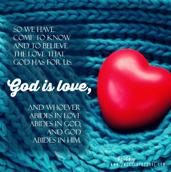 Knowing god loves you