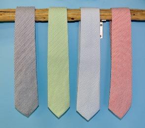 seersucker mens ties