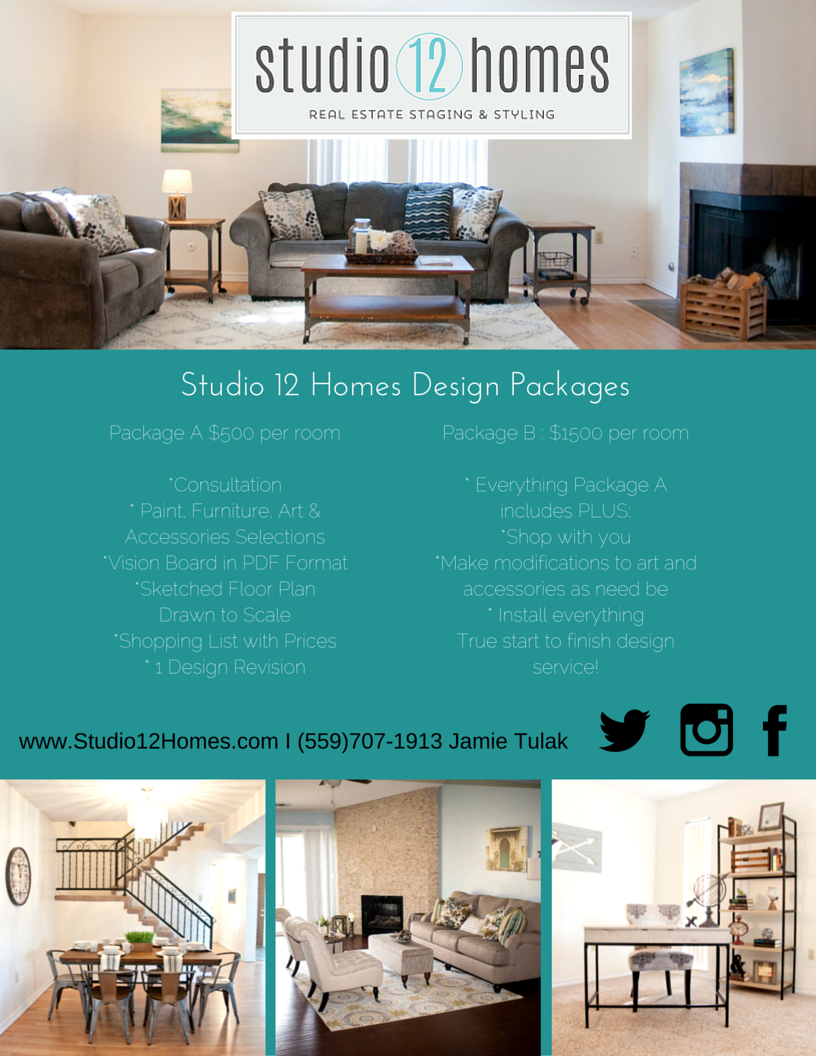 Home Staging & Design - Interior Design Services