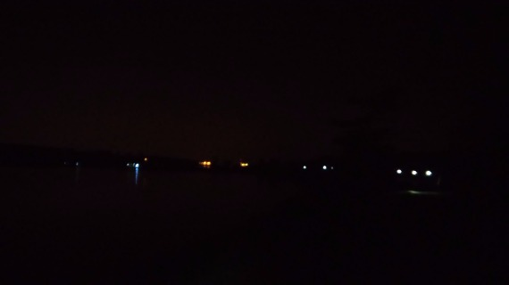 2015 Summer Night Trail Marathon - Headlamps in the Distance at Eagle Creek Park