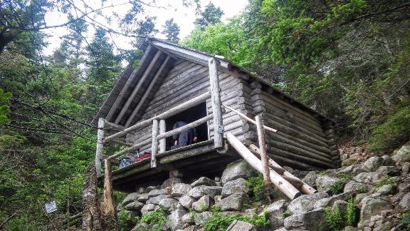 Guyot Campsite - Shelter