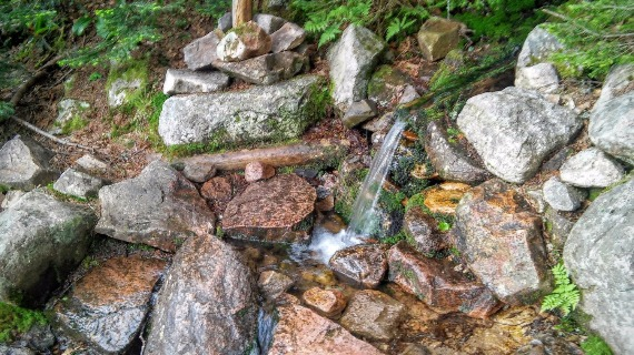 Guyot Campsite - Natural Spring