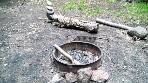 Rocky Branch Shelter #1 - Firepit
