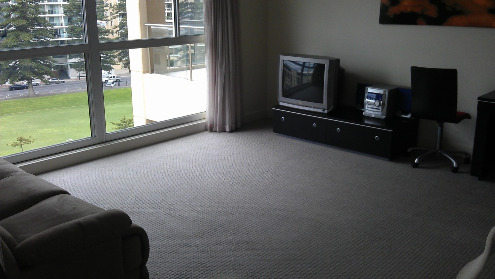 lounge room carpet cleaned