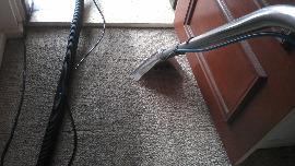 cleaned front door carpet