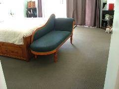 clean bedroom carpet