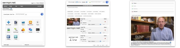 sermon.net - live streaming, audio and video delivery for churches and ministries!