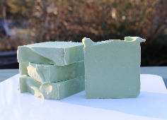 Natural Honeydew pear Soap