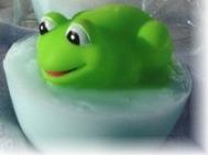 Frog Soap for Kids