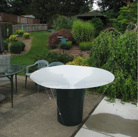 Rainsaucer How To Catch Rainwater For Drinking
