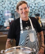 chef Martha Hubbard at Isle Cook Key West