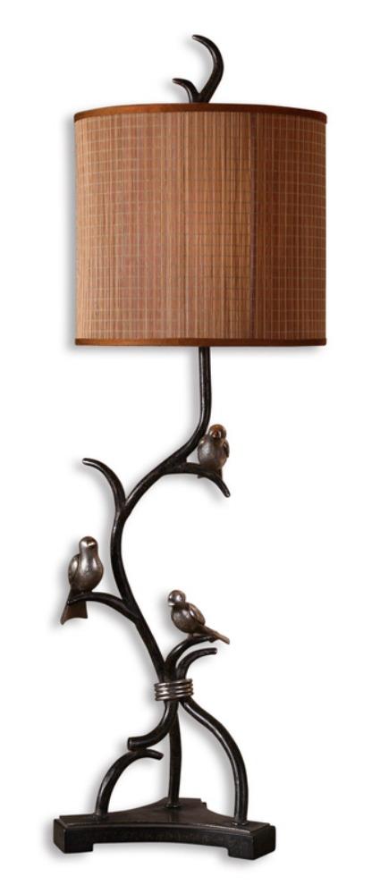 Sierra Wisteria Three Little birds lamp, Sierra Wisteria bird lamp