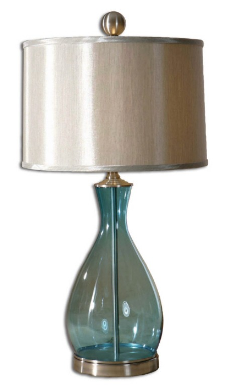 Sierra Wisteria glass lamp
