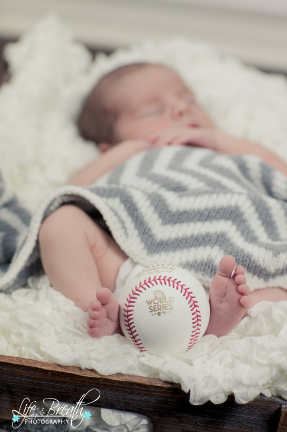 newborn photography baseball astros world series