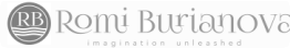 romi burianova photography logo