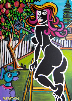 mango lady by marky pierson