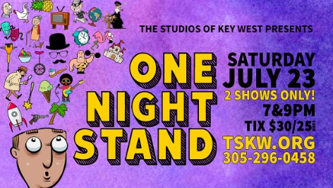 One Night Stand poster 2016 tskw design by marky pierson