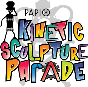 Marky Pierson Wonderdog Studios Design - Key West Art & Historical Society: Papio Kinetic Sculpture Parade Logo