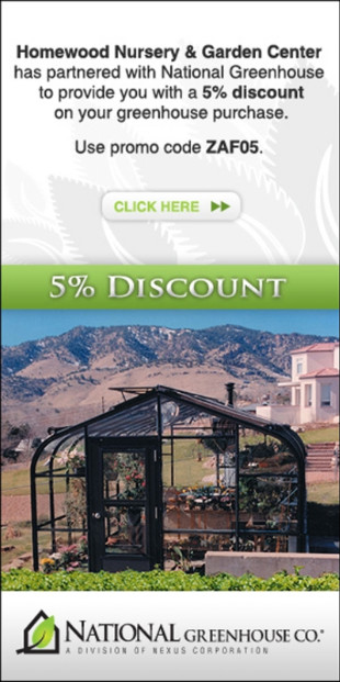 Homewood Nursery Garden Center Has Partnered With National Greenhouse Co A Division Of Nexus Corp The Premier Manufacturer Residential