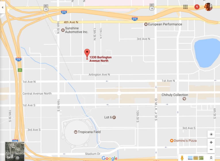 The Missio Dei Community St Petersburg Florida Map And Directions