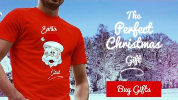 Santa Claus T-Shirt Image