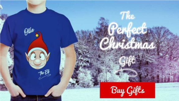 Ollie the Elf T-Shirt Image