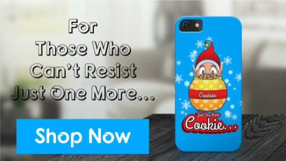 Just One More Cookie iPhone Case